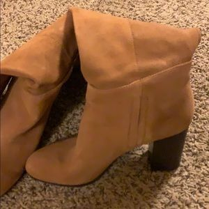 Shoes - Sam Edelman suede knee high boots